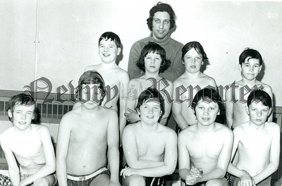 Swimmers Peter Sarsfield