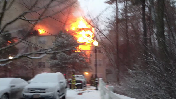 Wilmington 4th Alarm - Avalon Dr - 2/8/13