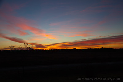 Oklahoma Sunset Nov 2013