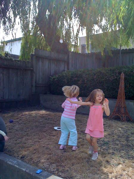 Do-si-do in the backyard