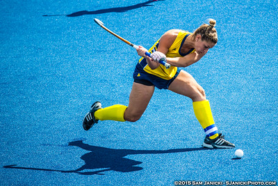 9-13-15 Michigan Field Hockey Vs Davidson