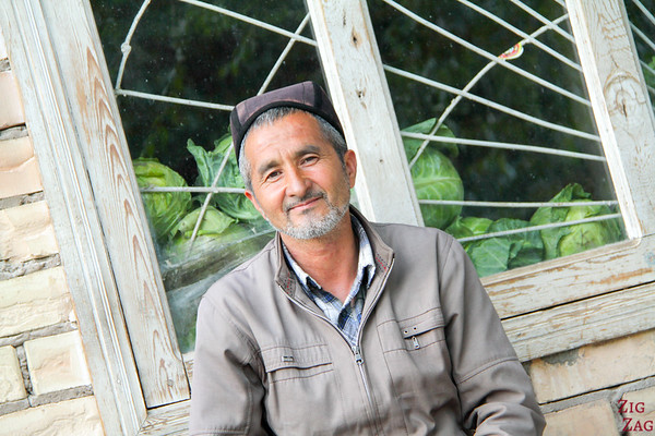 Portrait Kyrgyzstan: men in Arslanbob 4