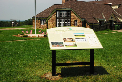 The interpretive sign celebrations