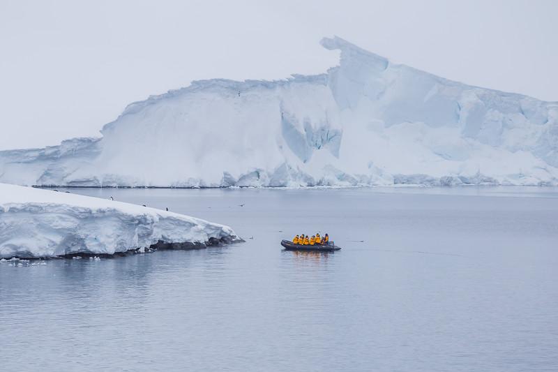 Antarctica Facts - continental landing