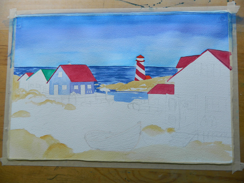 Nova Scotia Harbor, watercolor, 15x22. july 25, 2012. SCN1348.JPG
