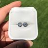 4.08ctw Old European Cut Diamond Pair, GIA I VS2, I SI1 43