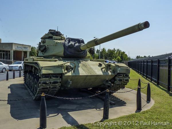 TNARNG Armory - Jackson, TN - M60A3 & D7E Bulldozer