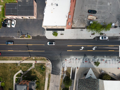Drone Cross Walk Install
