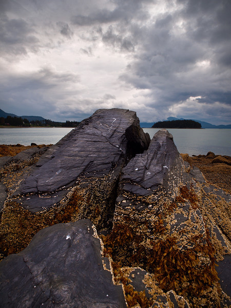 This slab-like rock looks pretty dramatic from a low angle. 8/23/2010