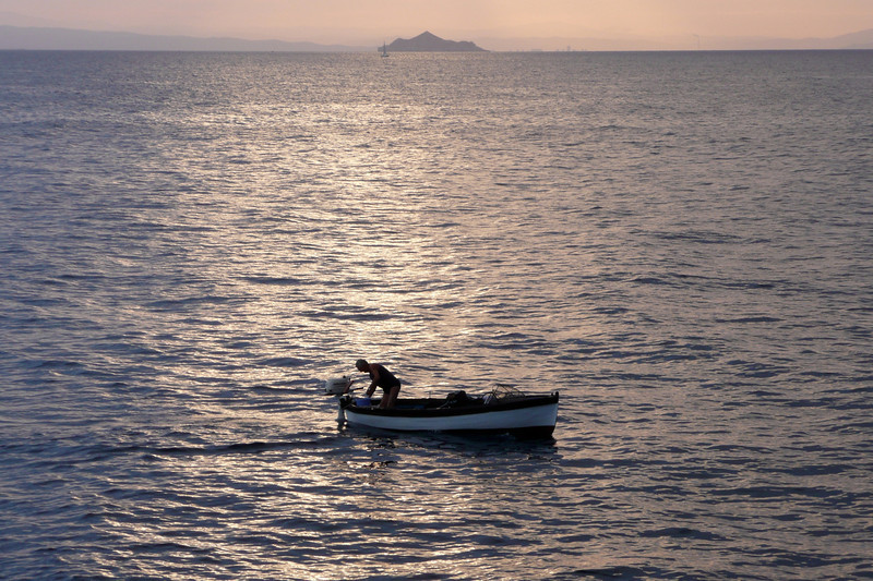 Man and the Sea. Isola d'Elba
