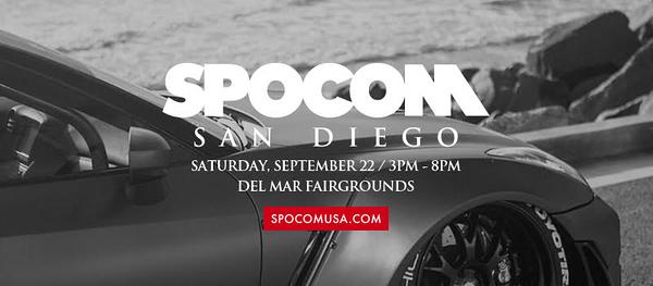 SPOCOM @ Del Mar Fairgrounds 9.22.18