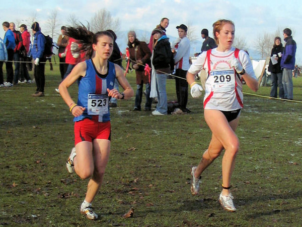 2005 Canadian XC Championships - The pacesetters still together
