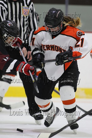 Girls Hockey Vermont Academy at Portsmouth Abbey on January 17, 2015