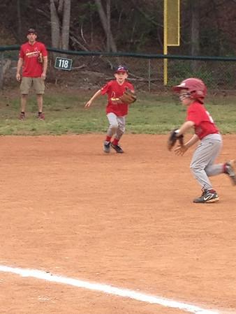 2013 Spring Quinn's Baseball Action