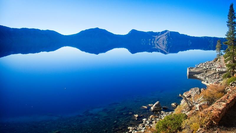 Crater Lake - Cleetwood Cove  © Chiyoko Meacham