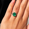 3.08ct Vintage Emerald Solitaire, by Tiffany & Co 16