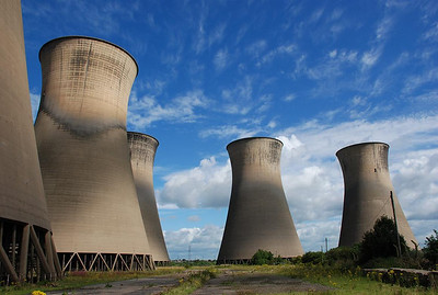 Willington Power Station Cooling Towers 2007.