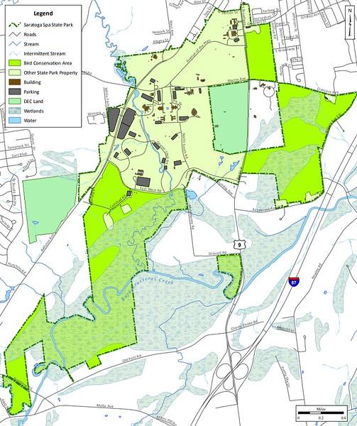 Saratoga Spa State Park (Bird Conservation Area)