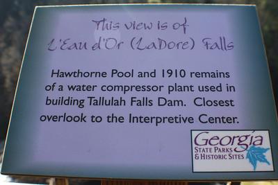 Toccoa falls and Tullulah Falls