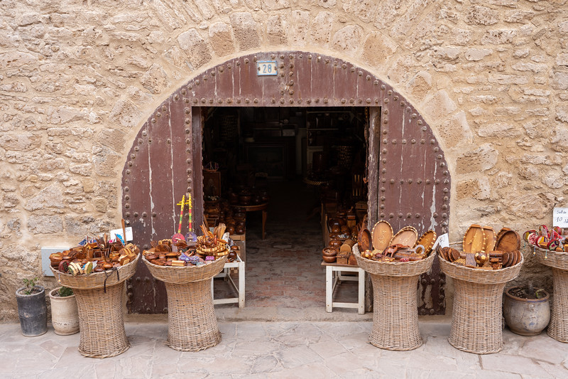 Shop in Essaouira, Morocco