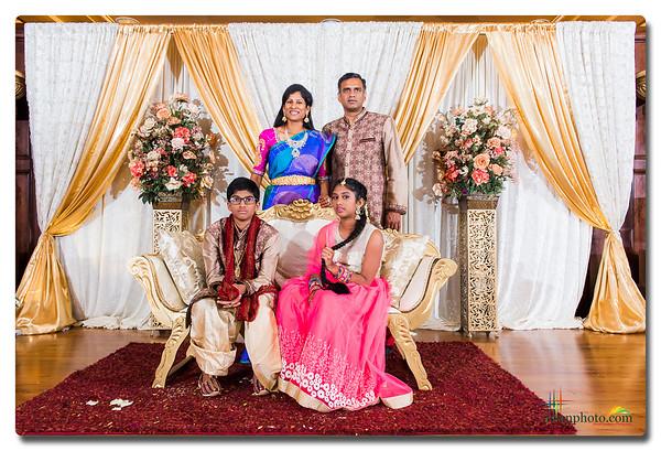Suvan's Doti Function and Saanvi's Half Saree Function 2017