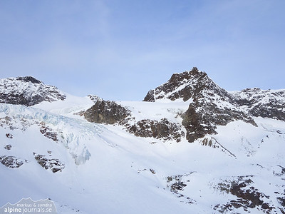 Egghorn and Silvrettahorn ski tour, Silvretta 2014-04-01