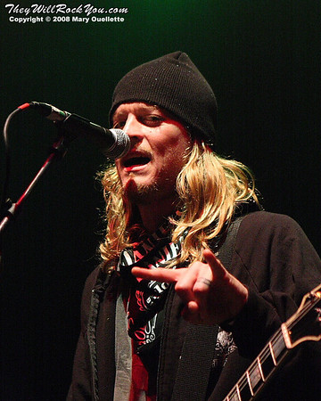 Puddle of Mudd<br>November 15, 2008<br>The Palladium - Worcester, MA <br> Photos by:  Mary Ouellette