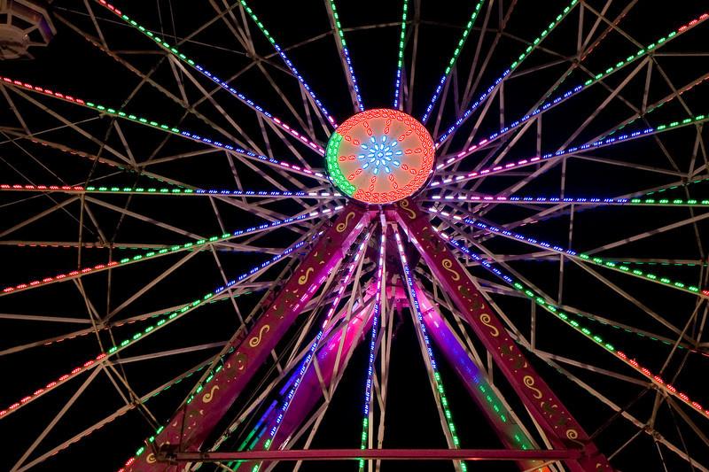 Ferris wheel at the Alameda County Fair