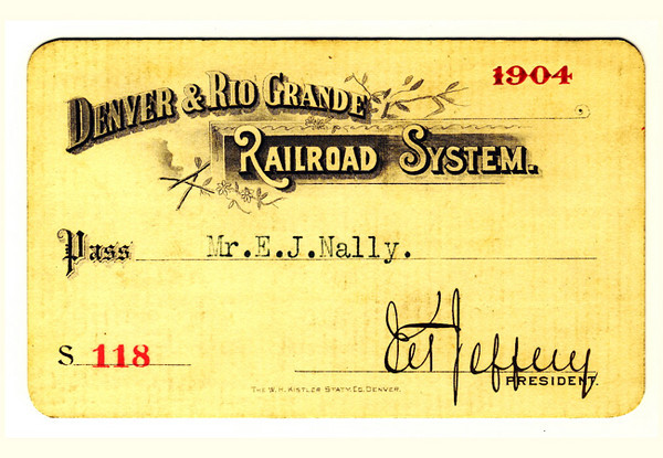D&RG Railroad System 1904