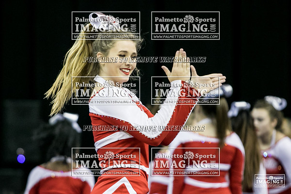 Greenville High School State Cheer 2018