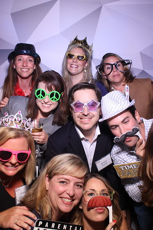 JLL HR Leadership Meeting Mirror Photo Booth at the Drake Hotel