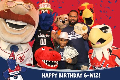 Washington Wizards G-Wiz Birthday Party: 3/16/2019