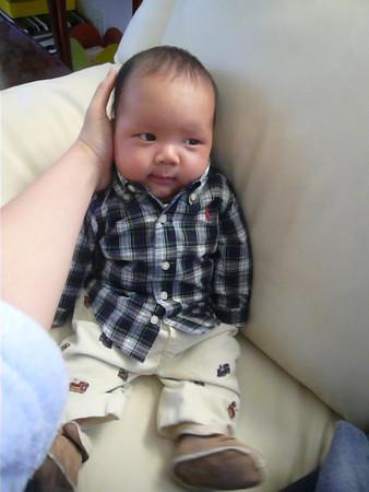 Caleb 1 Month