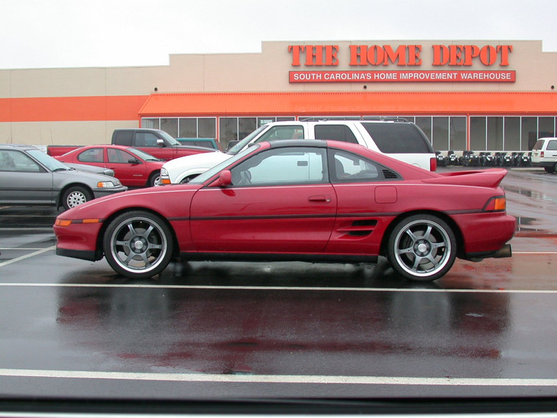 just a nice mr2 with nice wheels