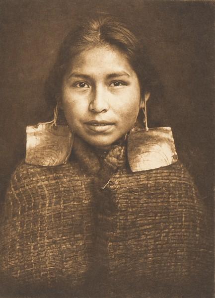 Tsawatenok Girl (The North American Indian, v. X. Norwood, MA: The Plimpton Press, 1915)