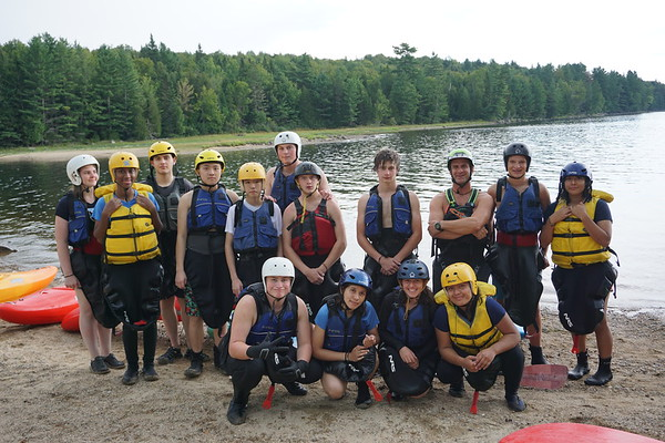 Orientation 2018: Whitewater Kayaking