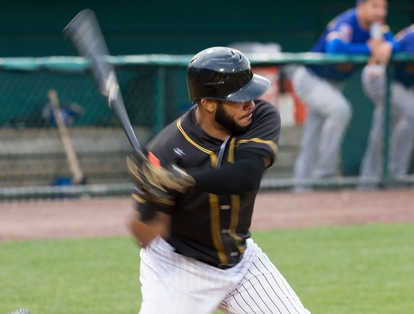 08/13/19 Wesley Bunnell | Staff the New Britain Bees vs the High Point Rockers at New Britain Stadium on Tuesday August 13, 2019. Jonathan Galvez (10).