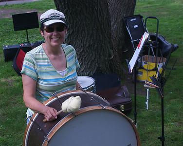 2011 07 17:  Italian-American Club, Duluth, Picnic + Community Band @ Enger Park