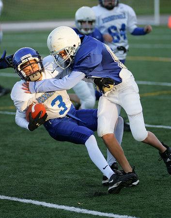 Wayzata 7th Grade (Team 6) vs Minnetonka (Team 2) Football (Sept-19-06)