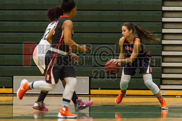 Boone Girls Varsity Basketball #24 - 2015