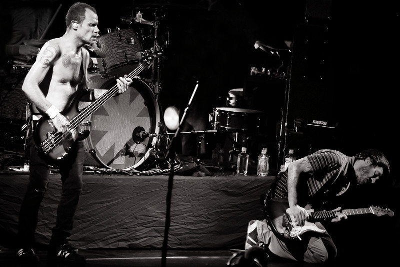 Flea and John Frusciante-Red Hot Chili Peppers