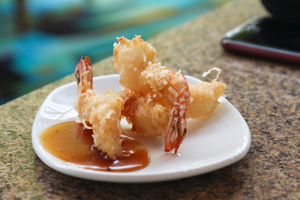 Crispy Coconut Shrimp from Peohe's Coronado