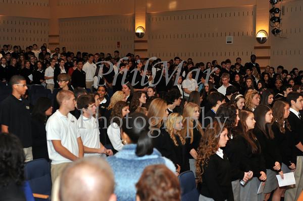 Berks Catholic Ring Mass 2011 - 2012