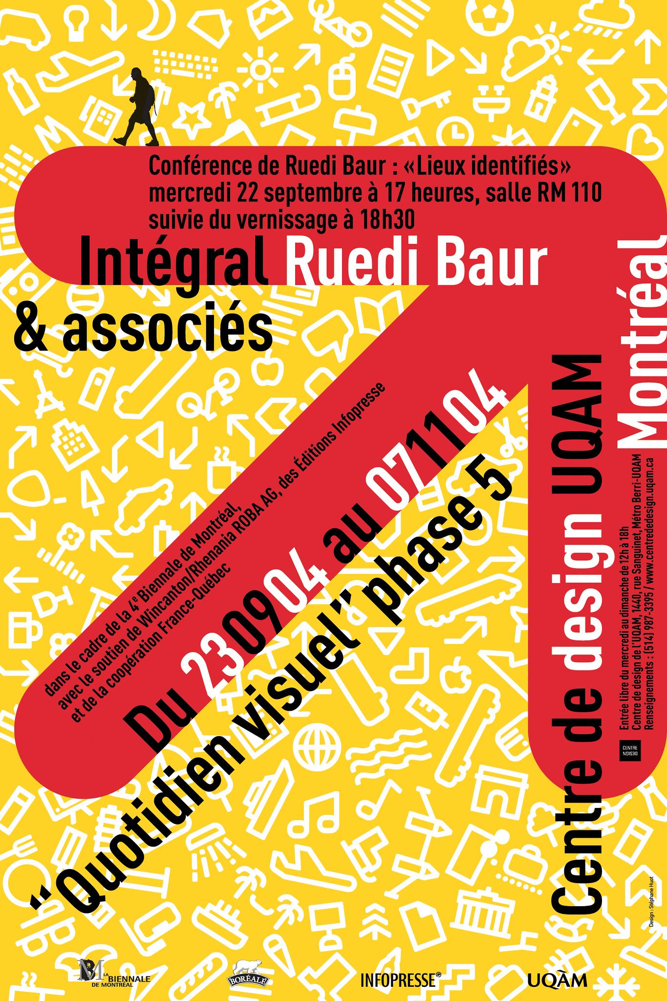2004 - Exposition - Intégral Ruedi Baur & associés Quotidien visuel phase 5 ©Stéphane Huot