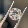 3.56ct Antique Cushion Cut Diamond 10