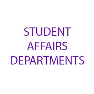 Student Affairs Departments