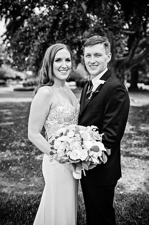 Amanda and Mathew - Black and White