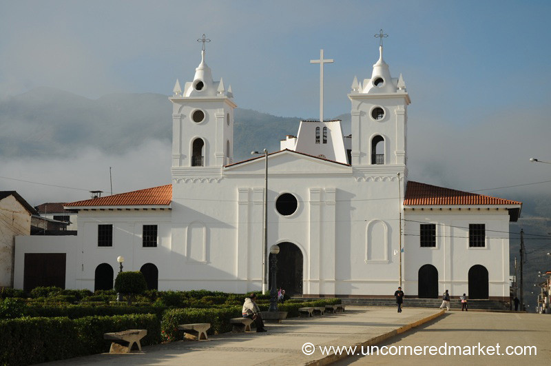 Church in Chachapoyas, Peru
