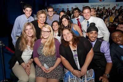 Univision - Presidential Nominee Mitt Romney & President Obama - October 19-20, 2012