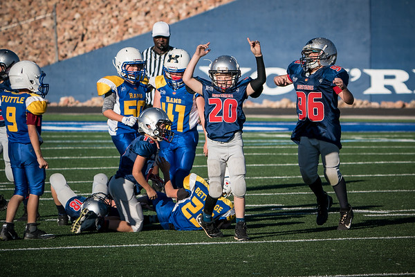 2019 6th Grade Mustangs vs Parowan (Championship)